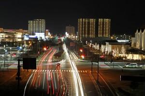 高次都市機能の西南