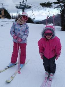 元旦からスキー、はじめました!