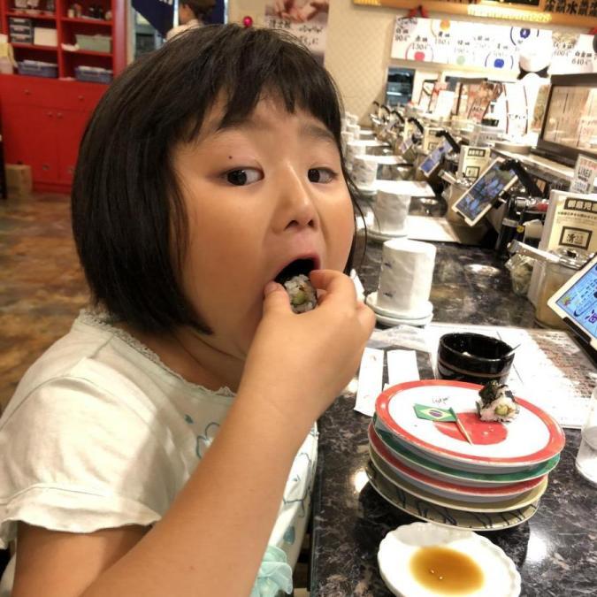 Sushi girl
