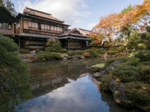 武田邸は穴場的な見るチャンスが少ないレアスポット!